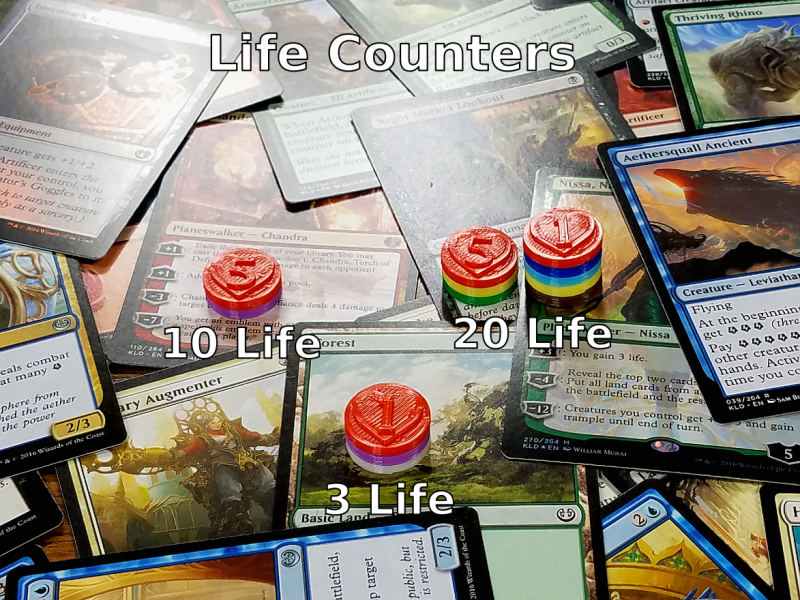 picture regarding Magic the Gathering Printable referred to as Custom made Magic the Accumulating Counters for Mana, Energy